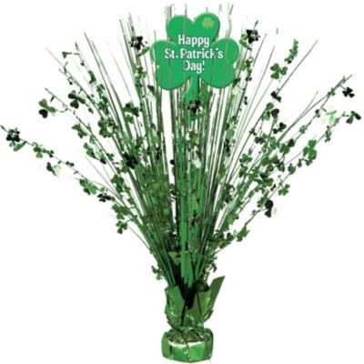 St. Patrick's Day Spray Centerpiece
