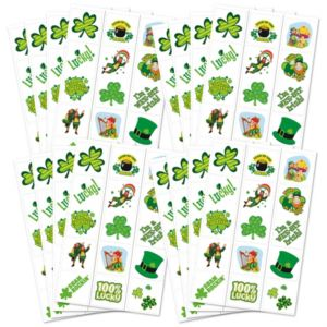 St. Patrick's Day Tattoos 120ct