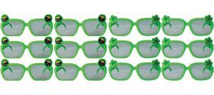 St. Patrick's Day Glasses 12ct