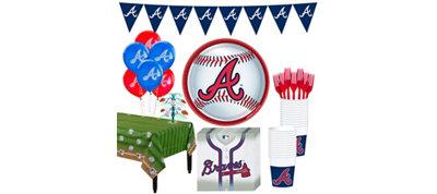 Atlanta Braves Super Party Kit