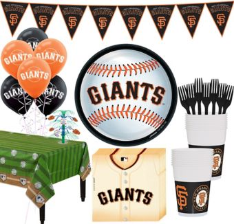 San Francisco Giants Super Party Kit for 18 Guests