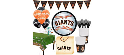 San Francisco Giants Super Party Kit