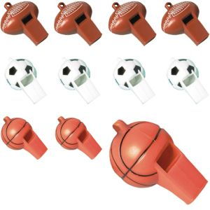 Play Ball Whistles 24ct