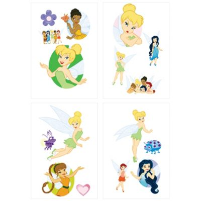 Tinker Bell and the Fairies Tattoos 1 Sheet