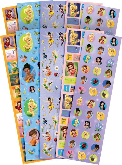 Tinker Bell Stickers Value Pack 10 Sheets