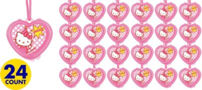 Hello Kitty Lip Gloss Necklaces 24ct