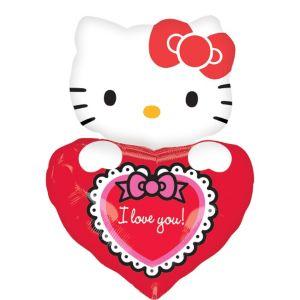 Hello Kitty I Love You Balloon