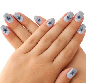 Dallas Cowboys Nail Tattoos 20ct