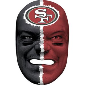 San Francisco 49ers Fan Face Mask