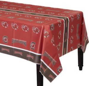 South Carolina Gamecocks Plastic Table Cover