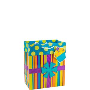 Glitter Cupcake Gift Bag