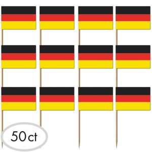 German Flag Picks 50ct