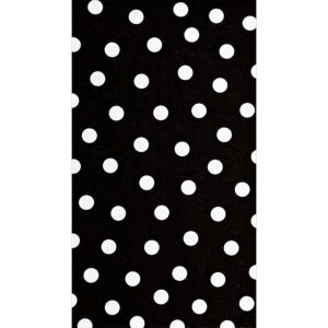 Black Polka Dot Guest Towels 16ct