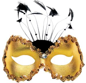 Gold Torino Masquerade Mask