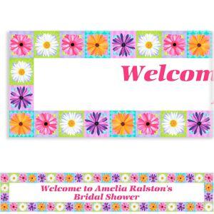 Custom In Bloom Banner 6ft