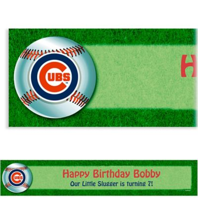 Custom Chicago Cubs Banner 6ft