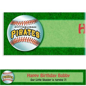 Custom Pittsburgh Pirates Banner 6ft