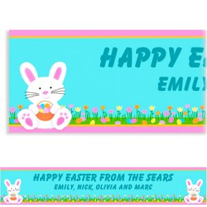 Custom Easter Friends Easter Banner 6ft