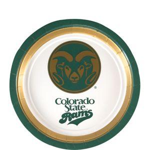 Colorado State Rams Dessert Plates 12ct