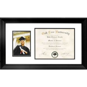 Graduation Diploma & Photo Frame