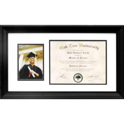 Graduation Diploma & Photo Frame