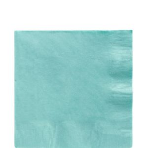Big Party Pack Robin's Egg Blue Lunch Napkins 125ct
