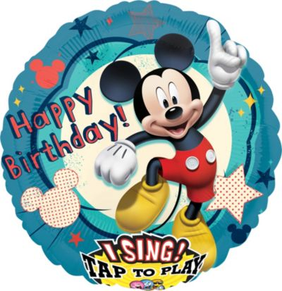 Mickey Mouse Balloon - Singing