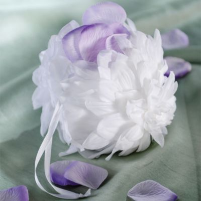 Gardenia Wedding Flower Girl Basket