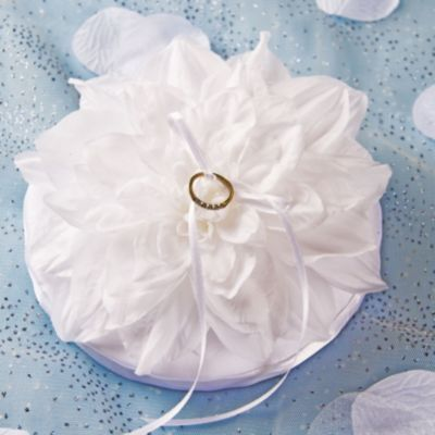 Gardenia Ring Bearer Pillow