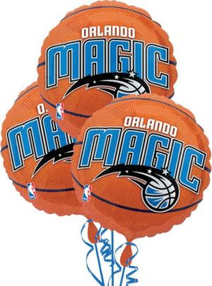 Orlando Magic Balloons 18in 3ct