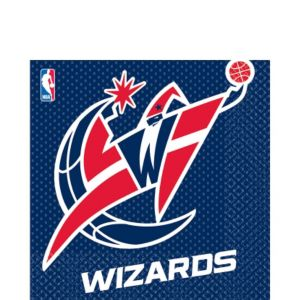 Washington Wizards Lunch Napkins 16ct