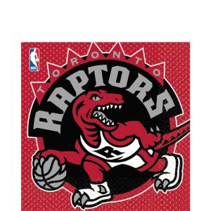 Toronto Raptors Lunch Napkins 16ct