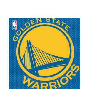 Golden State Warriors Lunch Napkins 16ct
