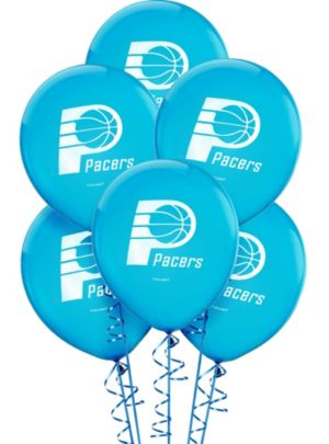 Indiana Pacers Balloons 6ct