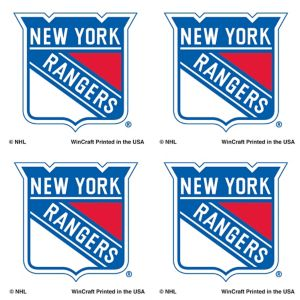 New York Rangers Face Tattoos 4ct