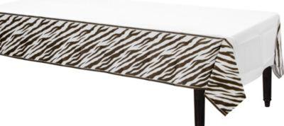 Zebra Print Table Cover