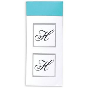 Monogram H Sticker Seals 30ct