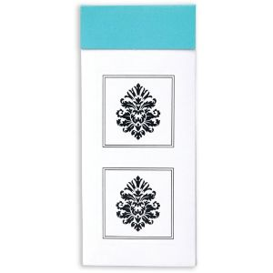 Damask Sticker Seals 30ct