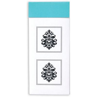 Damask Envelope Seals 30ct