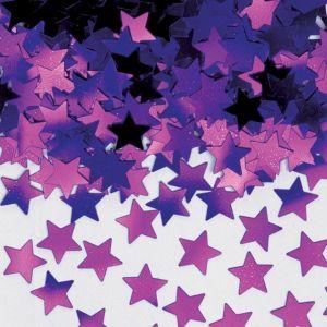 Mini Purple Star Confetti