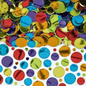 Multicolor Dot Confetti