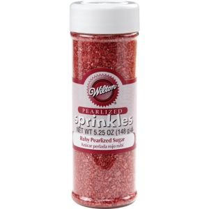 Ruby Red Crystal Sugar Sprinkles