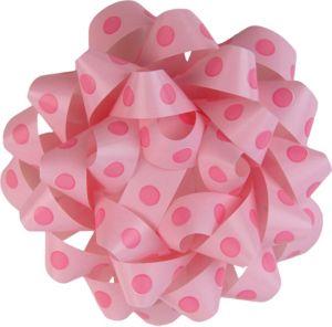 Pink Polka Dot Gift Bow