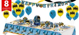 Batman Super Party Kit for 8 Guests