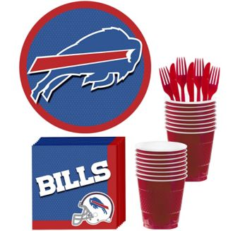 Buffalo Bills Basic Party Kit for 18 Guests