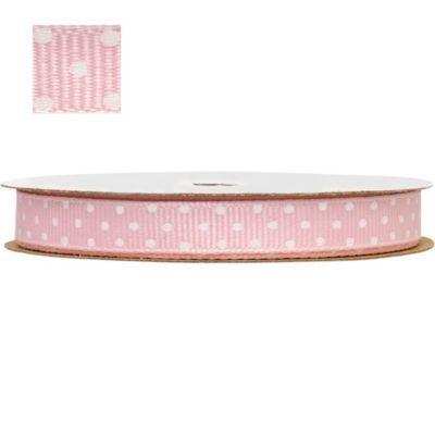 Light Pink Polka Dot Ribbon