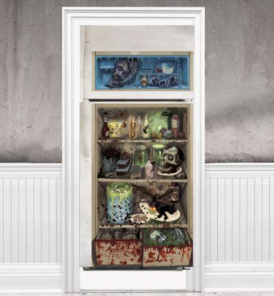 Halloween Refrigerator Door Decoration