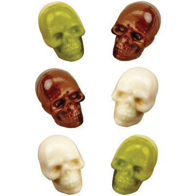 3D Skulls Candy Mold