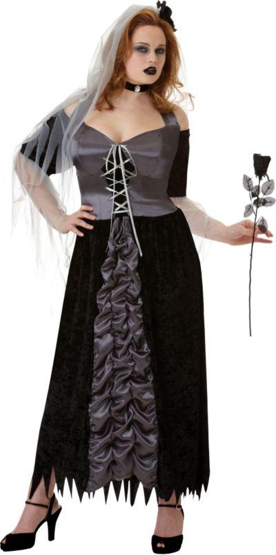 Adult Evil Maiden Costume Plus Size