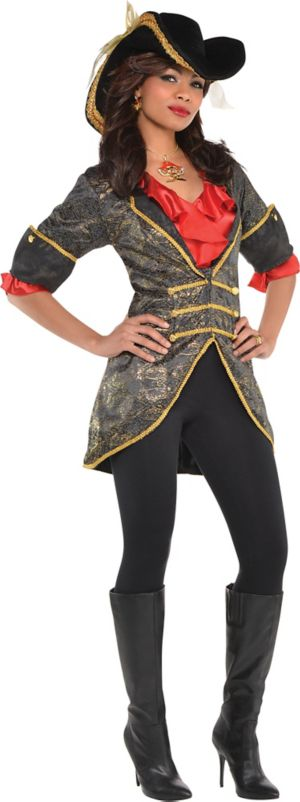 Adult Lady Pirate Jacket